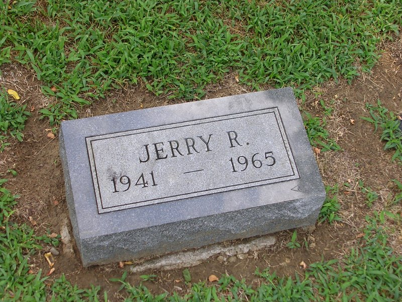 Jerry R. BENNINGTON Grave Photo