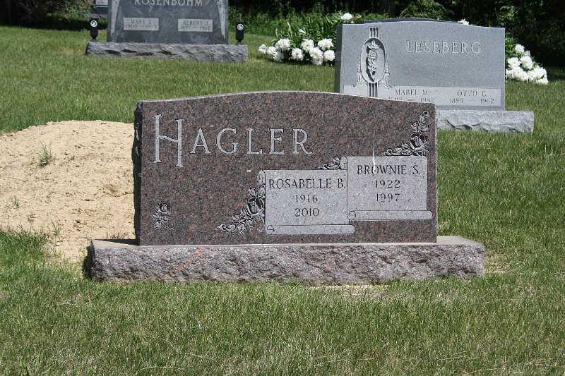 Rosabelle  B. HAGLER Grave Photo