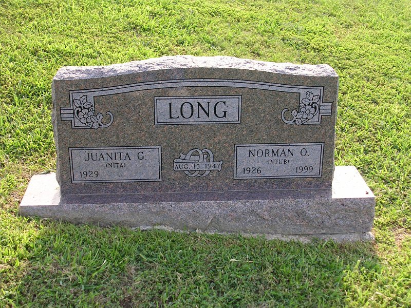 Norman O. Stub LONG Grave Photo