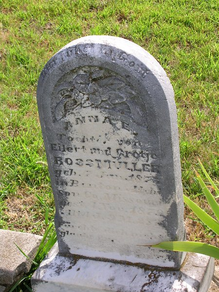 Anna E. ROSSMULLER Grave Photo